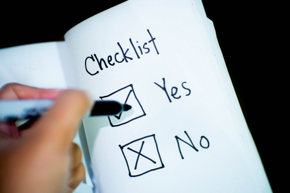 The Last Dissertation Checklist You Will Ever Need