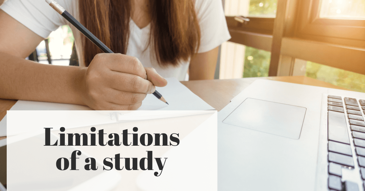 Limitations Of a Study