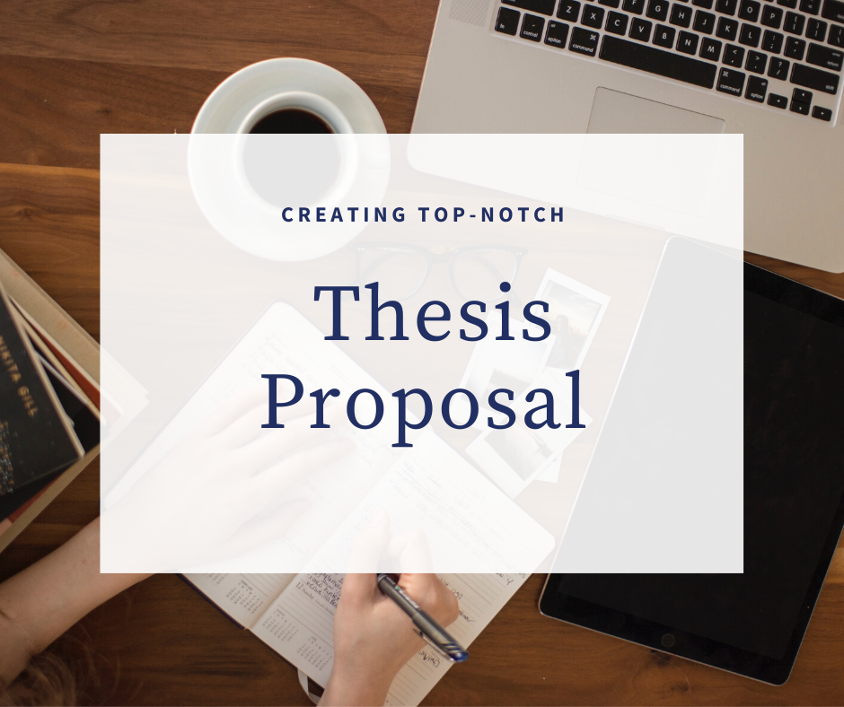 How to Write a Great Thesis Proposal The Easy Way