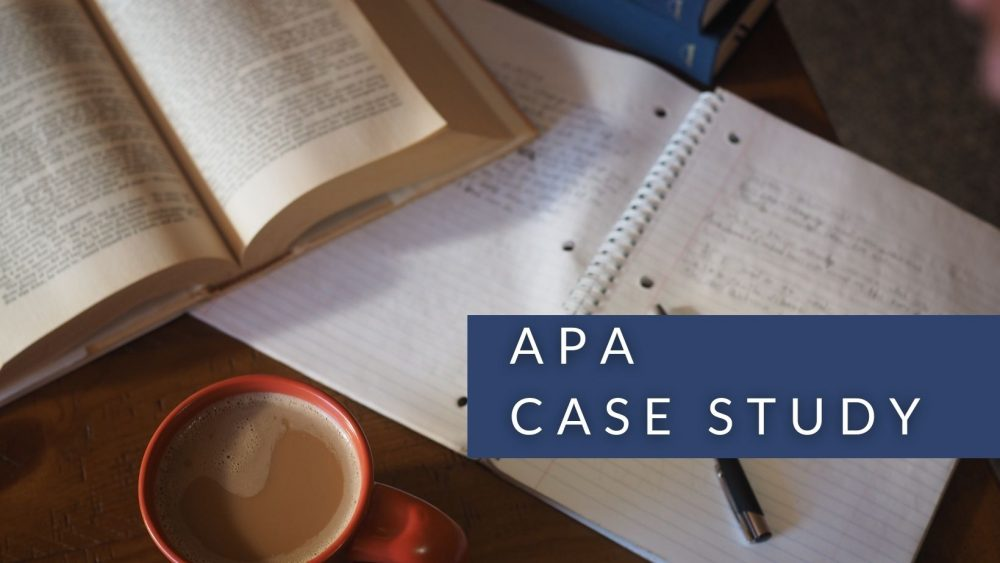 All You Need To Know About APA Case Study (Top Guide)