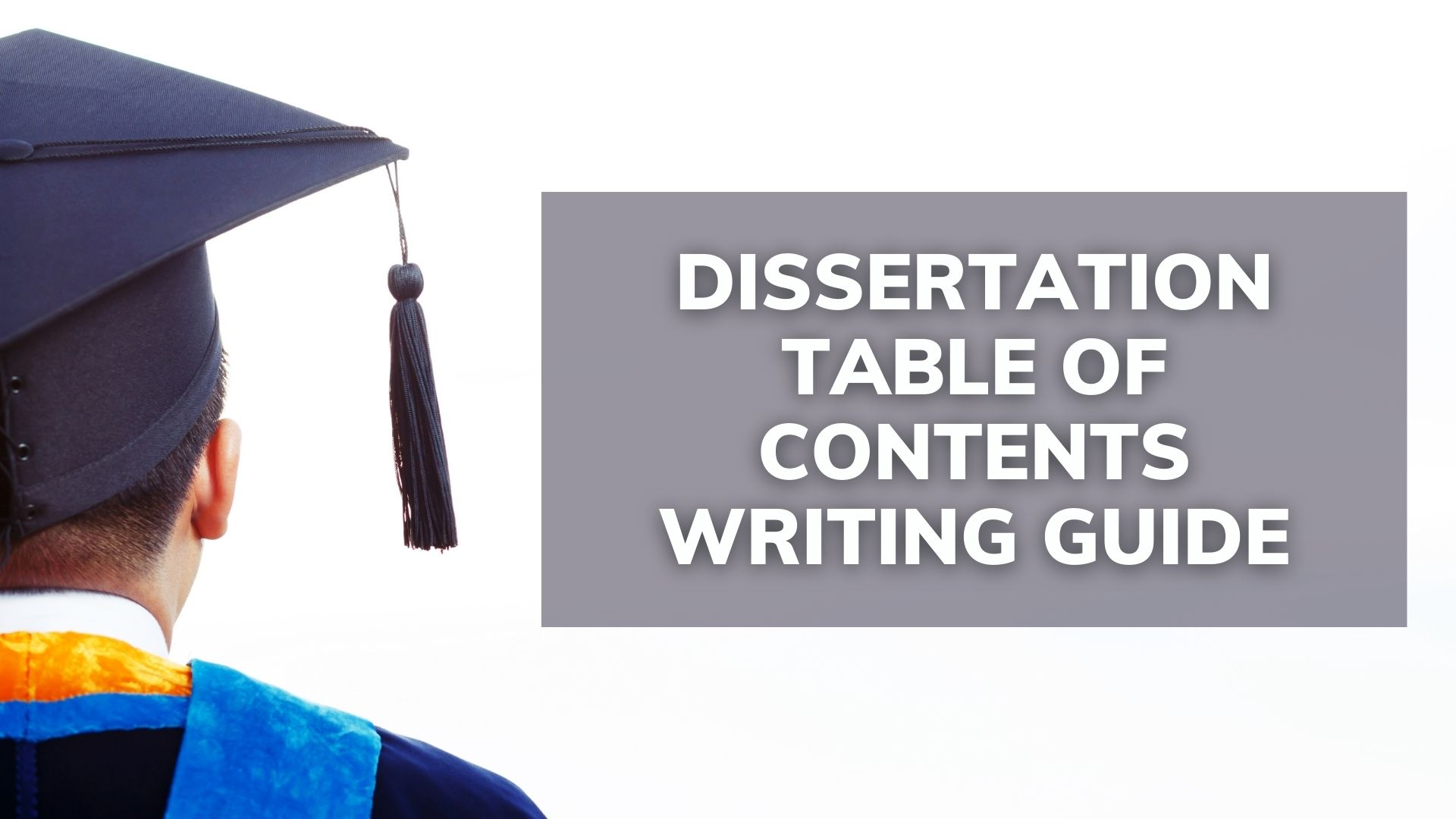Writing Top-Notch Dissertation Table Of Contents
