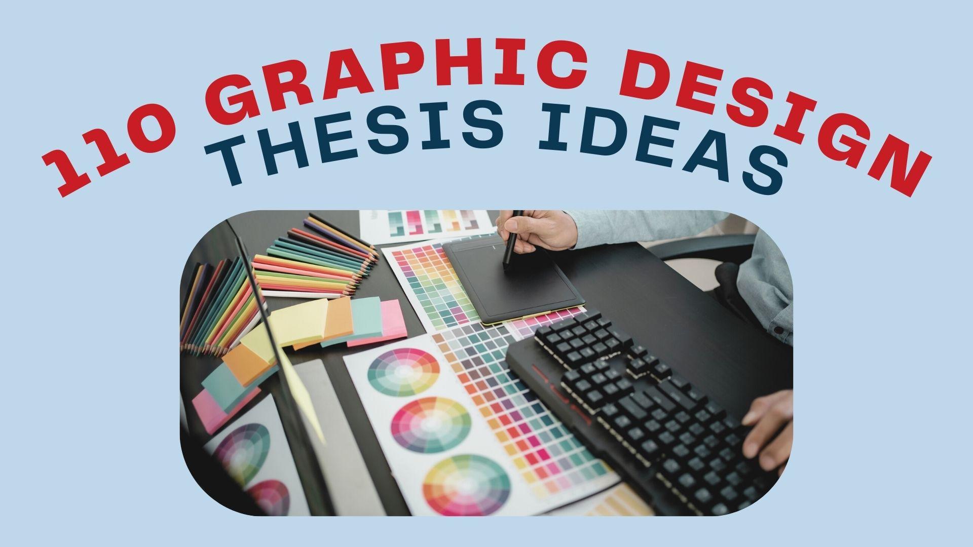 graphic design thesis ideas