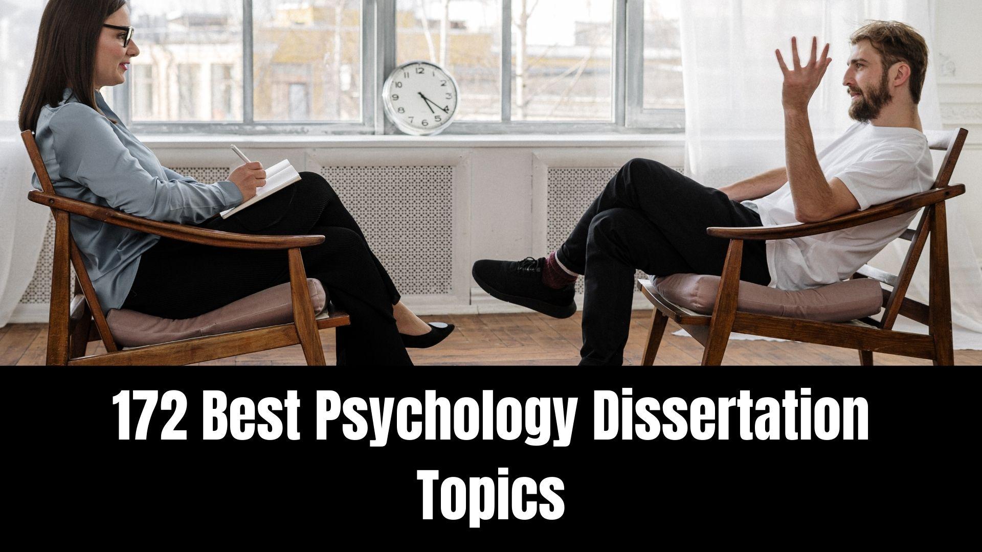 psychology dissertation topicss
