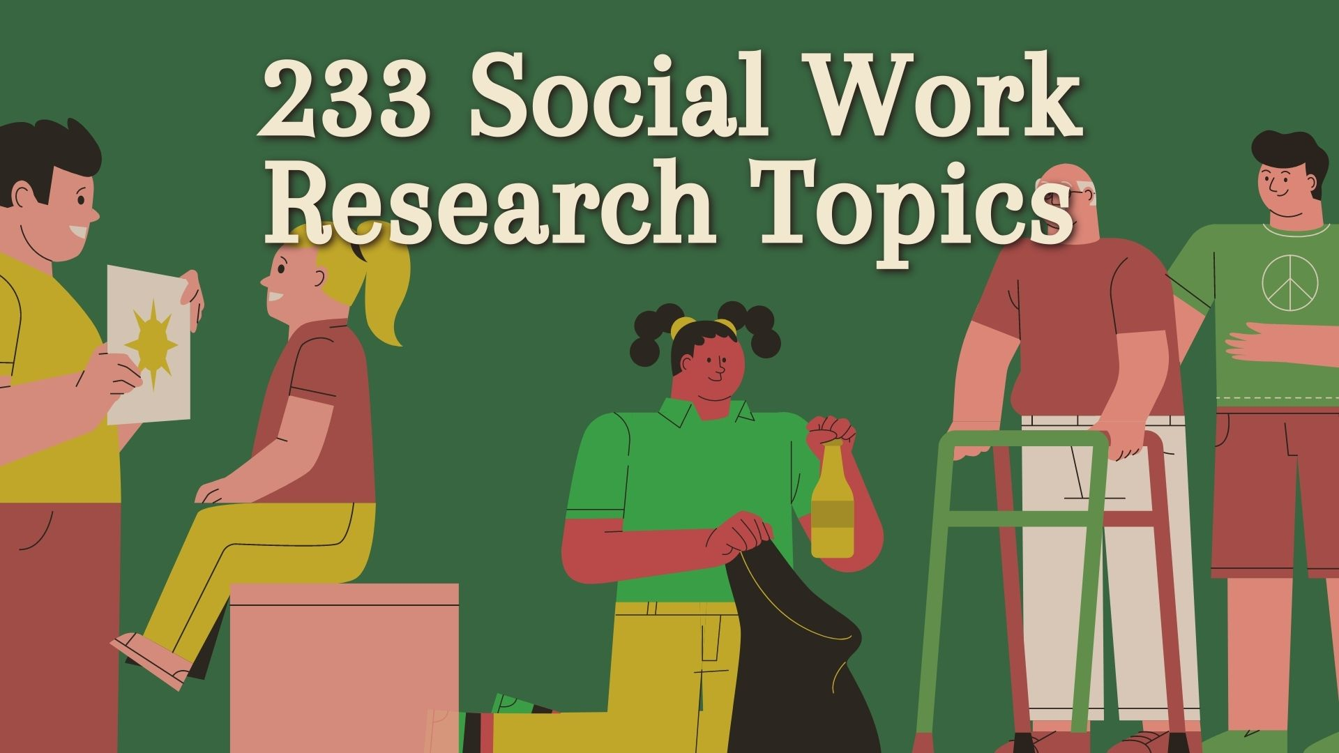 social work research topics