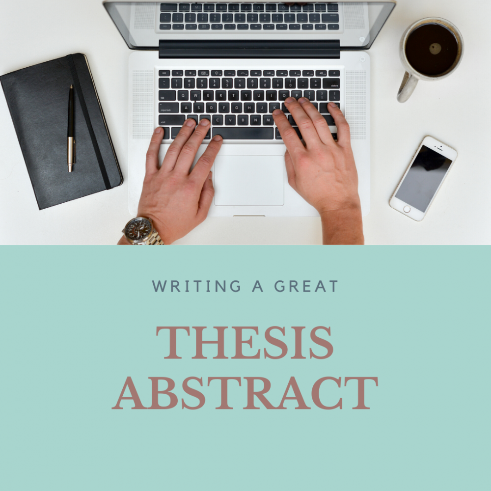 How To Write Thesis Abstract In No Time